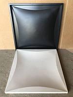"""Пластиковая форма для изготовления 3d панелей """"Ирис"""" 50*50 (форма для 3д панелей из абс пластика), фото 1"""