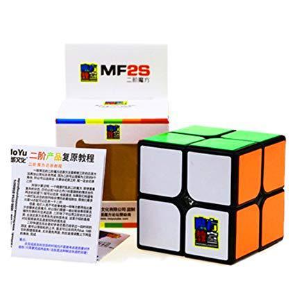 Кубик Рубика 2x2 MoYu MF2S (Чёрный)