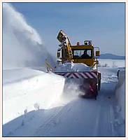 Услуги снегоуборочной техники