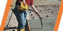 Вибраторы глубинные для бетона