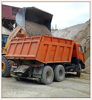 Услуги грузовых перевозок, доставка сыпучих материалов