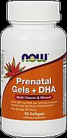 Now Prenatal Gels + DHA 90 softgel