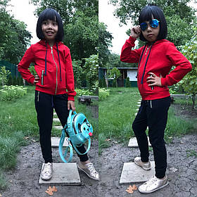 Спортивный детский костюм, размеры 28-30-32-34-36, Турция