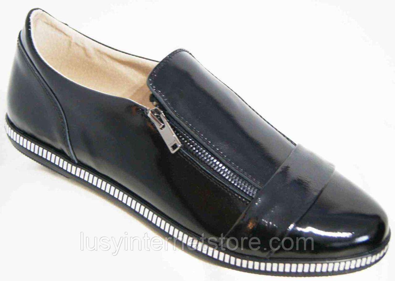 Туфли кожаные женские большие размеры, женская обувь большие размеры от  производителя МИ5248-5М 1e5f9af7232