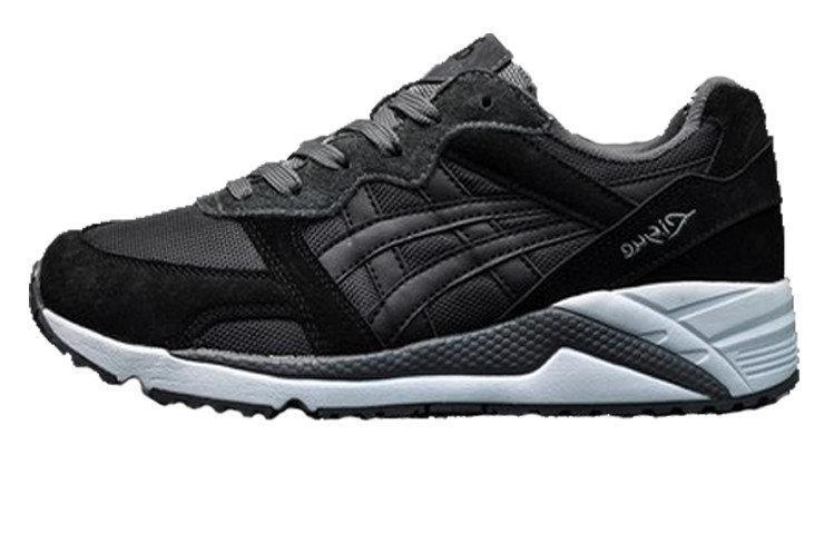 Мужские кроссовки Asics Gel Lyte Lique Black Gray White (Реплика ААА класса) 1ea4bb8b47f