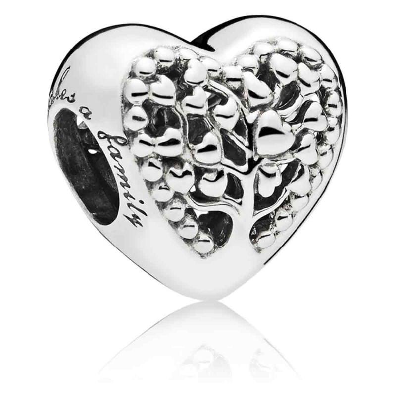 Серебряный шарм «Дерево жизни» копия Pandora