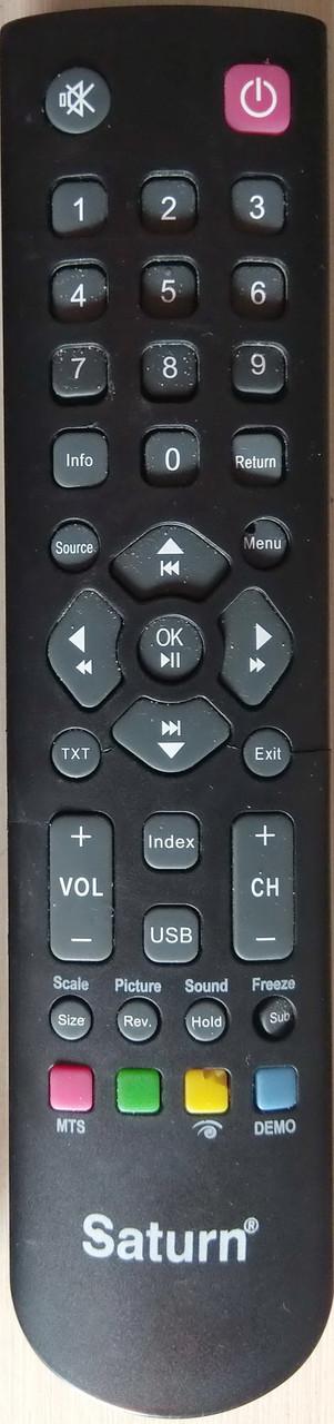 Пульт к телевизору  SATURN. Модель LED291