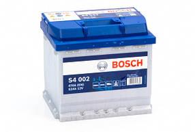 Акумулятор автомобільний BOSCH 6СТ-52 Євро