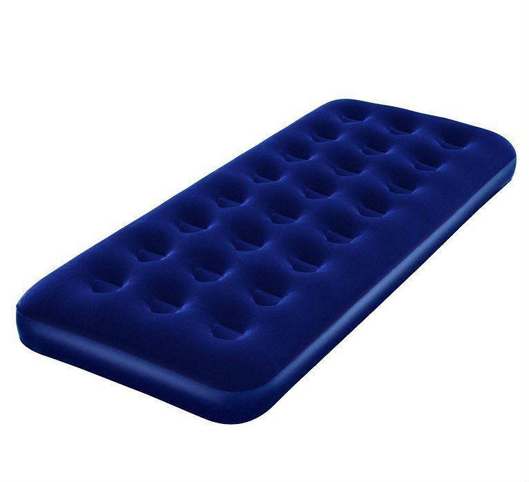 Надувний матрац Bestway флокированый 185х76х22 см (67000) (67000BW)