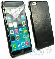 Чехол Alston Craig Vintage Leather Slim Shell Case Apple iPhone 6, iPhone 6S Black (J1_21)