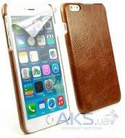 Чехол Alston Craig Vintage Leather Slim Shell Case for Apple iPhone 6 Plus Brown (J1_24)