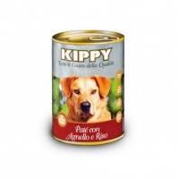 KIPPY консервированный корм для собак с ягнёнком и рисом (паштет), 400г