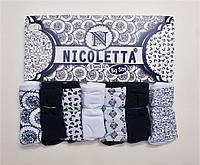 Женские трусики-недельки Nicoletta (7шт.) размер 2XL 3XL 4XL 24986