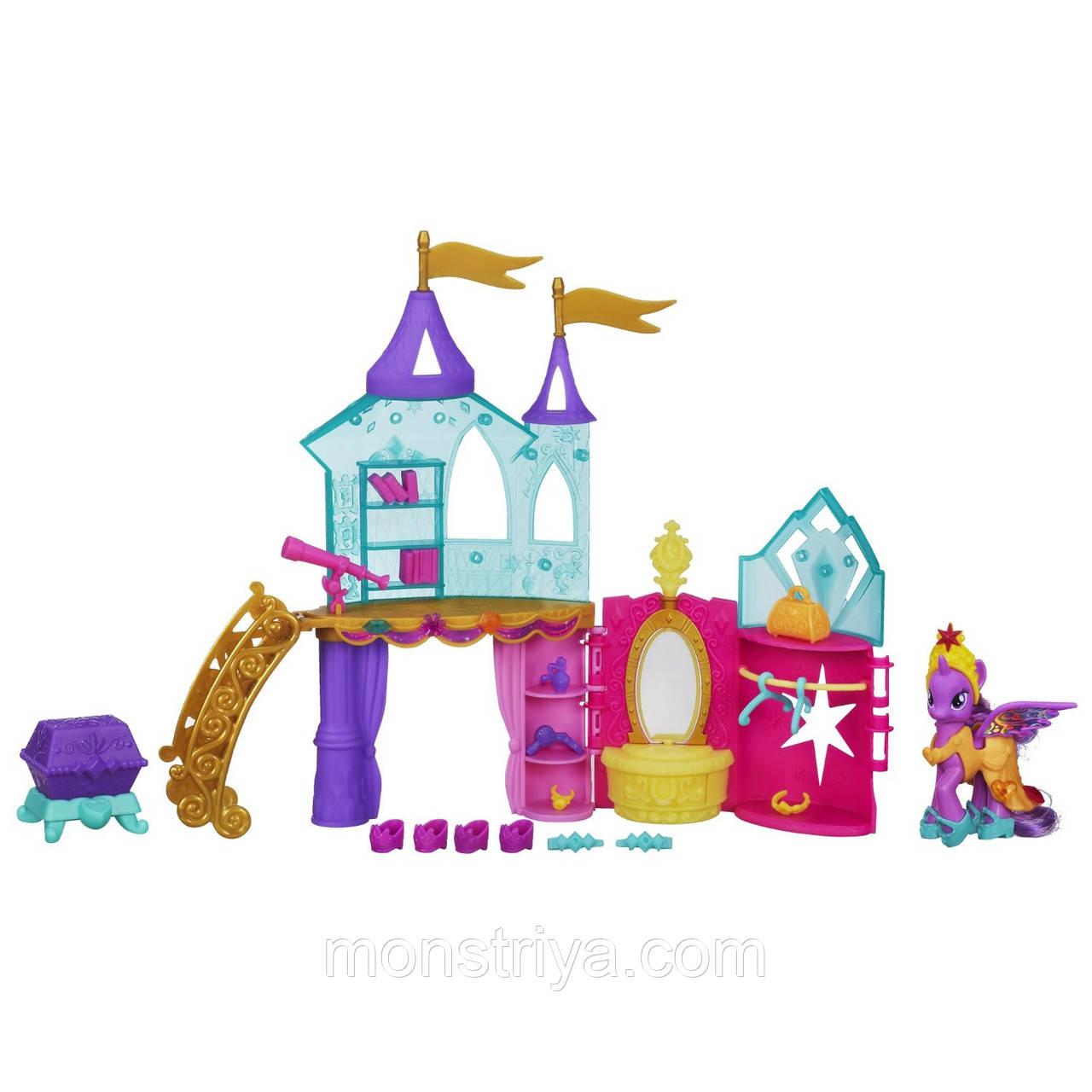 """My Little Pony Игровой набор """"Кристальный замок"""" с пони Twilight Sparkle от Hasbro"""