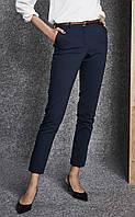 Женские классические брюки темно-синего цвета. Модель 260023 Enny., фото 1