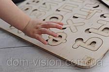 Экологически чистые развивающие деревянные азбуки (русская), фото 3