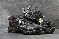 Кроссовки мужские черные с красным Nike Air Vapormax Plus 5859
