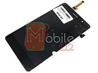 Модуль для Lenovo S860 | Дисплей + тачскрин, чёрный, оригинал PRC