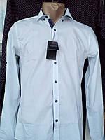 Белая рубашка с длинным рукавом Sigman