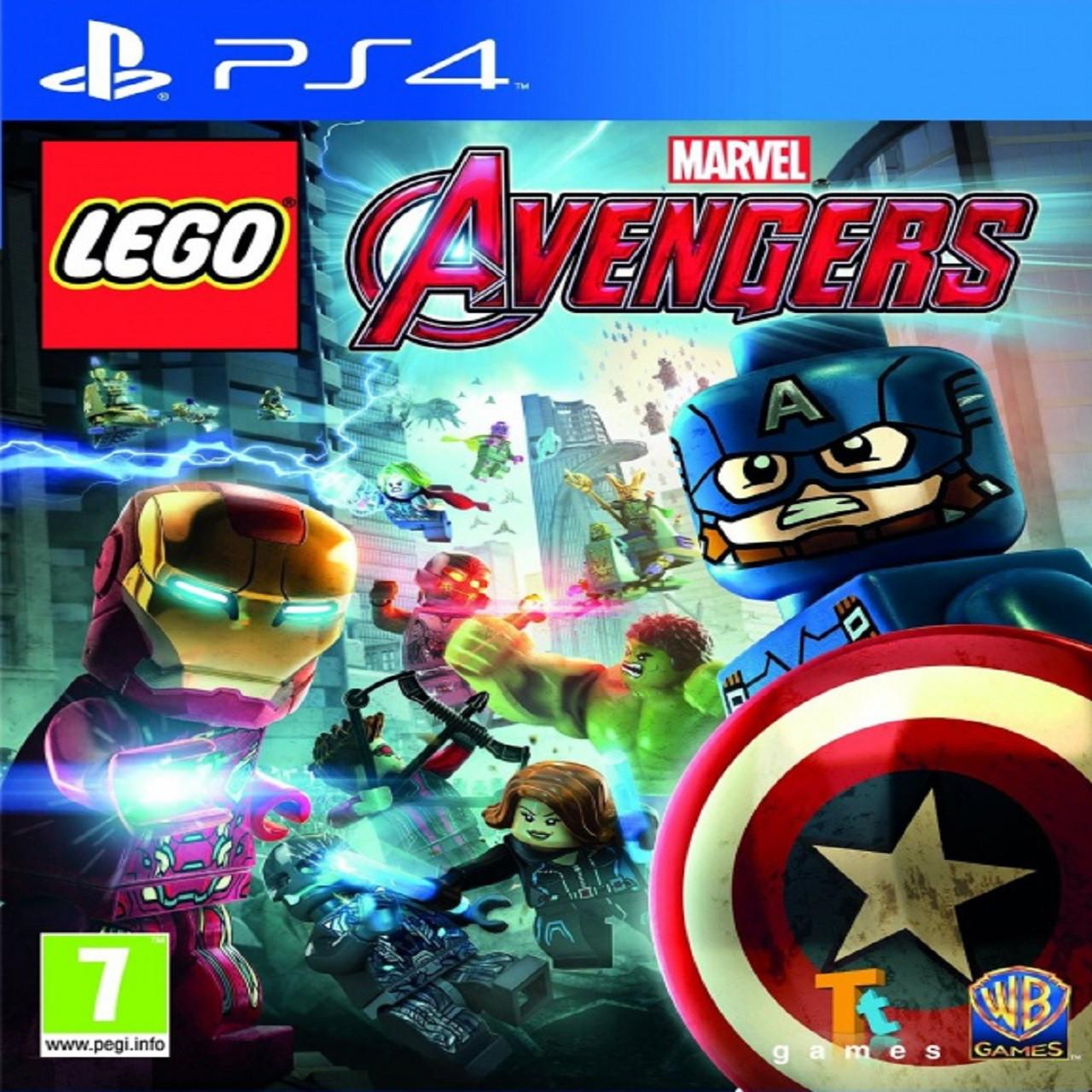 LEGO Marvel Avengers (русские субтитры) PS4