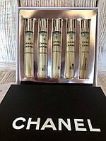 Подарочный Набор реплика Оригинал Chanel Chance Eau Fraiche 5×7.5 ml