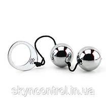 Вагинальные шарики Fifty Shades of Grey Inner Goddess Silver Metal Pleasure Balls, фото 3
