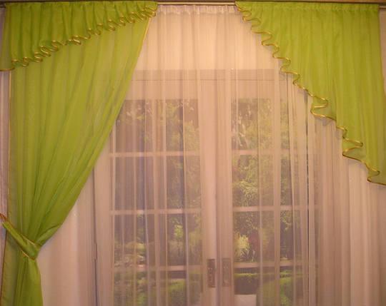 """Готовый шторный комплект """"София""""- оливковая, фото 2"""