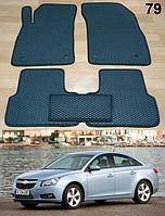 Коврики на Chevrolet Cruze '09-16. Автоковрики EVA, фото 1