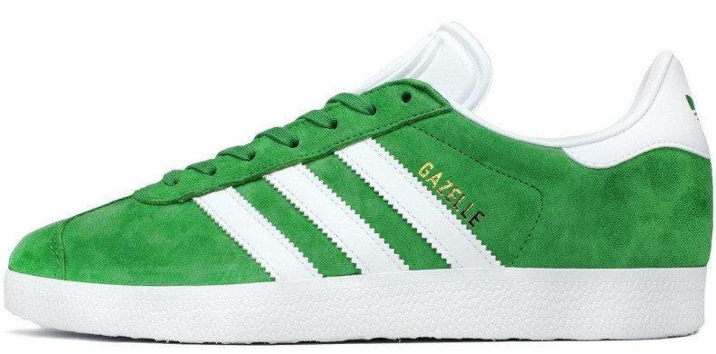 """Мужские кроссовки Adidas Gazelle  """"Green/White""""(в стиле Адидас)"""