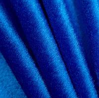 Велюр темно голубой