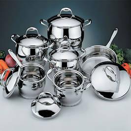 Посуд металевий нержавіючий