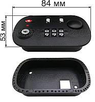 Кодовый замок для чемодана КД 16 черный (внутренний), фото 1