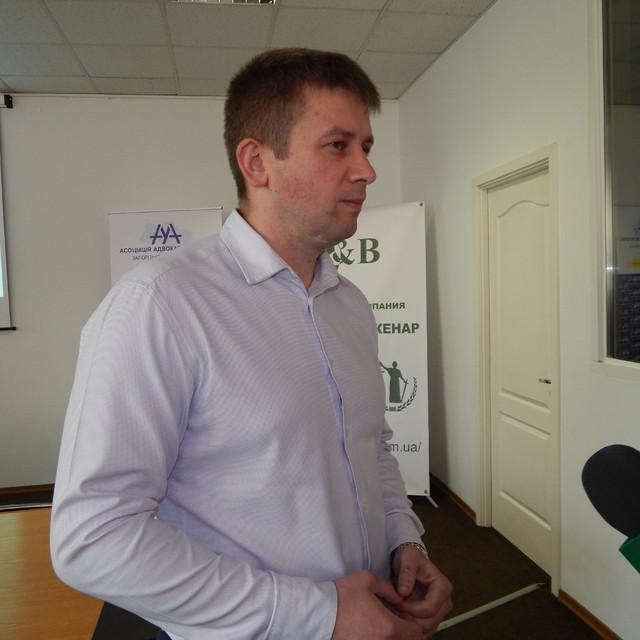 Глава Запорожского отделения Ассоциации адвокатов Украины Дмитрий Майстро – о перспективных проектах