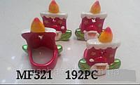 Подсвечник  новогодний, 9х8х6 см, керамика, новогодние сувениры, Днепропетровск