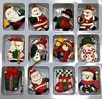 Фигурка новогодняя, подвеска, магнит, 4,5х4,5 см, Оригинальные новогодние подарки, Днепропетровск