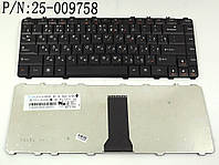 Клавиатура для ноутбука LENOVO IdeaPad Y450, Y450A, Y450G, Y550, Y550A, V460 ( RU Black ). Оригинальная клавиатура. Русская раскладка. 25-009758