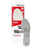 Специальные зимние стельки из вспененного латекса и натурального меха  Alu Super (универсальный размер) 019020