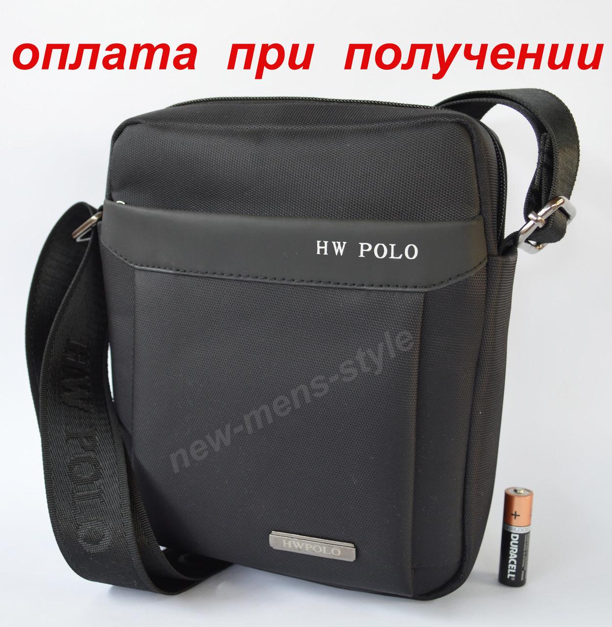 Чоловіча через плече тканинна сумка слінг рюкзак барсетка Polo купити
