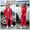 Детский Спортивный костюм EA7 Ткань: турецкая двух нить высокого качества! Девочка-мальчик, фото 2