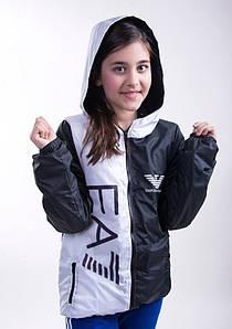 Куртка подростковая Ткань: турецкая плащевка+подкладка на синтепоне-80, принт на куртке- фотопечать