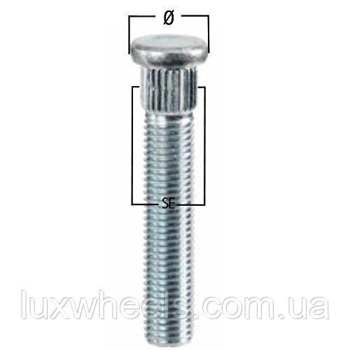 Шпилька забивная CRP130A55 M12X1,50 длина рез.части 55мм Цинк