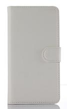 Кожаный чехол-книжка для Sony Xperia Z1 Compact d5503 белый