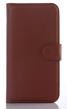 Чехол-книжка для Samsung Galaxy S5 mini G800 коричневый