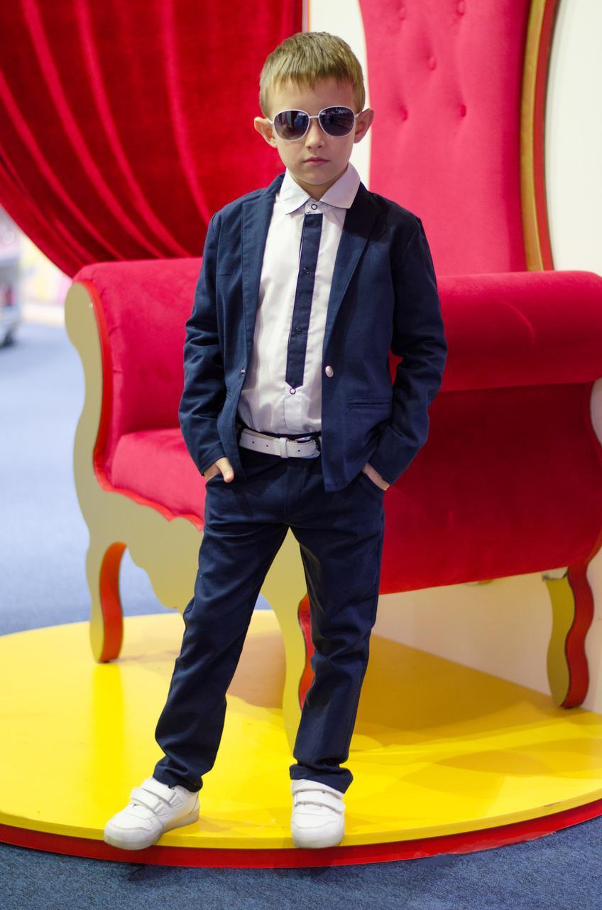 Костюм детский Лен брюки + пиджак .Очень легкая , не плотная, шикарное качество.Цена зависит от размера