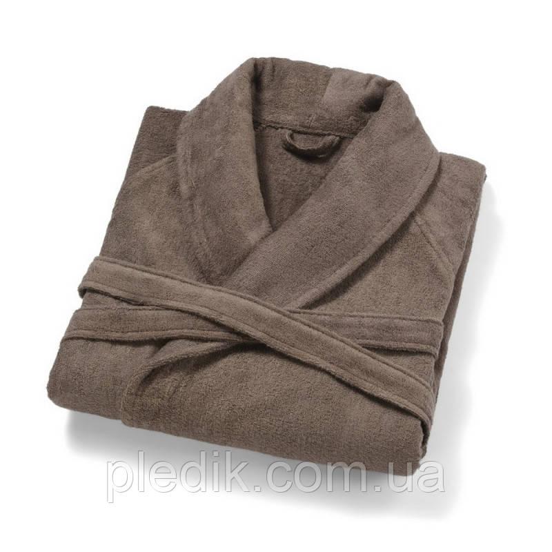 Махровый халат с бамбуком PHUKET CHESTNUT от Casual Avenue, св.коричневый р.L