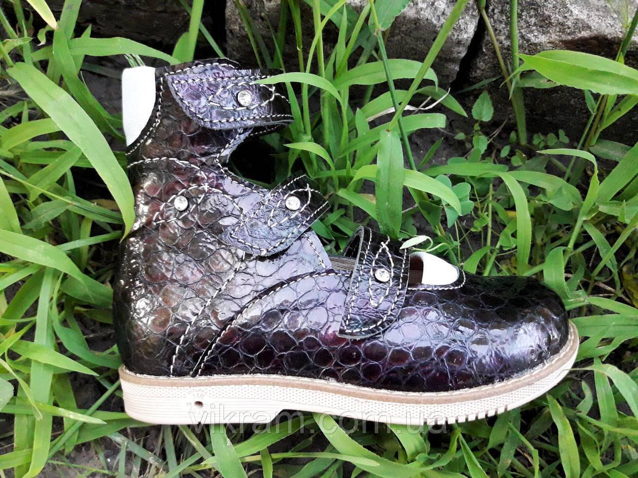 Туфли ортопедические кожаные для девочек VIKRAM.ORTO  с 20р по 36р