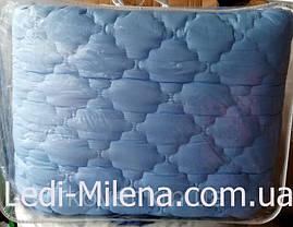 Теплое зимнее полуторное бамбуковое одеяло микрофибра, фото 3
