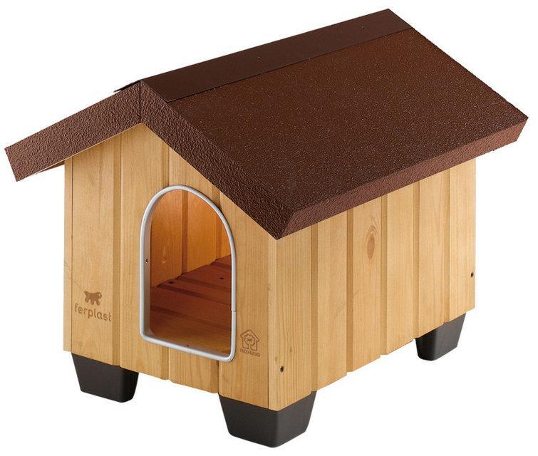 Ferplast DOMUS MINI Будка деревянная для собак