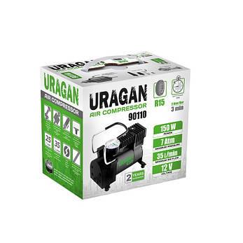 Автокомпрессор URAGAN 90110, фото 2