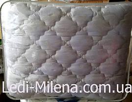 Теплое зимнее двухспальное бамбуковое одеяло микрофибра, фото 3